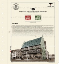 DR 1942 - 10th Anniversary of the German Association for Goldsmiths' Art