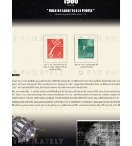 China 1960 - Russian Lunar Space Flights