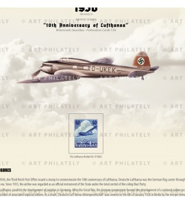 DR 1936 - 10th Anniversary of Lufthansa v.02 - detail 1
