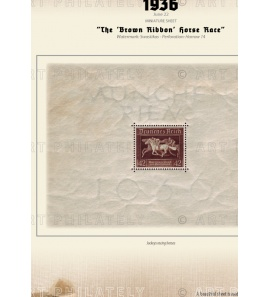 DR 1936 - The 'Brown Ribbon' Horse Race