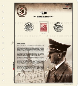 50th birthday of Adolf Hitler