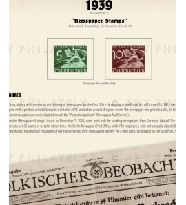 DR 1939 - Newspaper Stamps