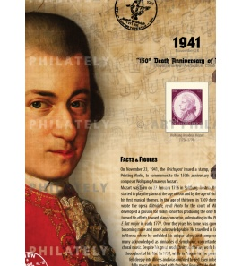 DR 1941 - 150th Death Anniversary of Mozart