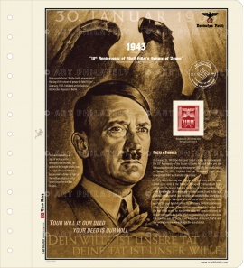 DR 1943 - 10th Anniversary of Adolf Hitler's Seizure of Power