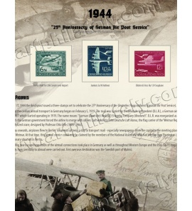 DR 1944 - 25th Anniversary of German Air Post Service