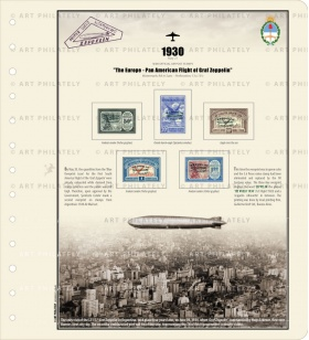 The Europe - Pan American Flight of Graf Zeppelin-LH
