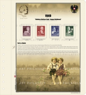 Austria 1949 - Children Welfare Fund - Happy Childhood