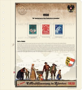 Austria 1950 - 30th Anniversary of the Plebiscite in Carinthia