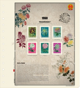 China 1960 - Chrysanthemums I