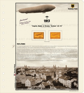DR 1913 - Liegnitz Flights of Airship 'Sachsen' (LZ 17)