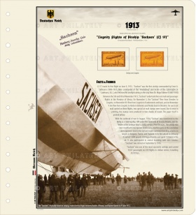 DR 1913 - Liegnitz Flights of Airship 'Sachsen' (LZ 17) v.02