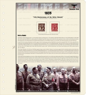 DR 1935 - 12th Anniversary of the Hitler Putsch v.02