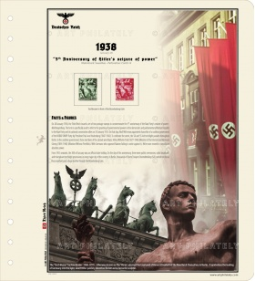 DR 1938 - 5th Anniversary of Hitler's seizure of power