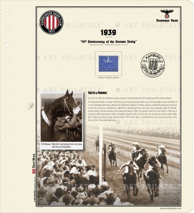 DR 1939 - 70th Anniversary of the German Derby