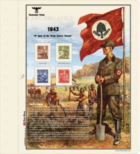 DR 1943 - 8th Anniversary of the Reich Labour Service