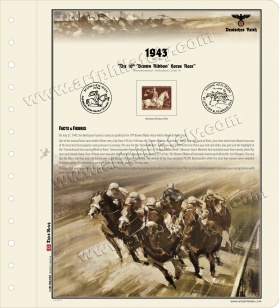 DR 1943 - The 10th 'Brown Ribbon' Horse Race