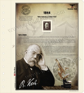 DR 1944 - Birth Centenary of Robert Koch