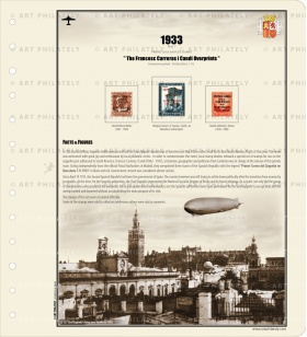 Spain 1933- The Francesc Carreras i Candi Overprints