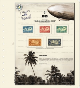 Paraguay 1933 - The South America Flights of 1933