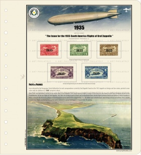 Paraguay 1935 - The 1935 South America Flights of Graf Zeppelin