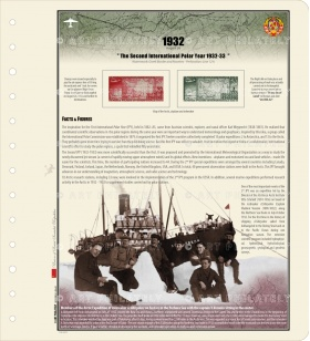 USSR 1932 - The Second International Polar Year
