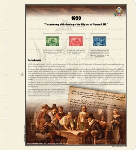 Pilgrim Tercentenary Issue