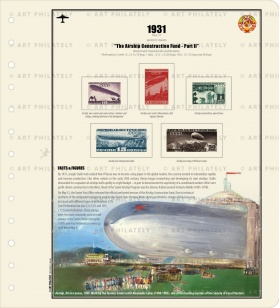 USSR 1931 - The Airship Construction Fund II	v.02