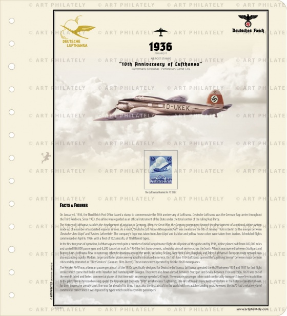 DR 1936 - 10th Anniversary of Lufthansa v.02